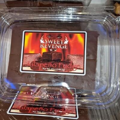 Sweet Revenge Jalapeno Fudge (12 oz)