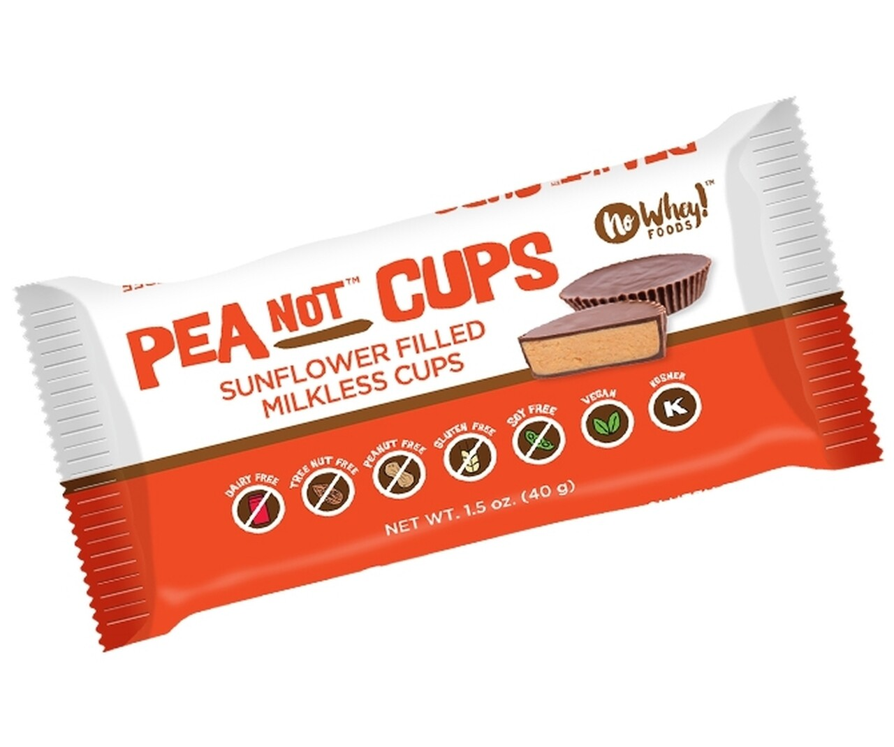 Pea-NOT Butter Cups