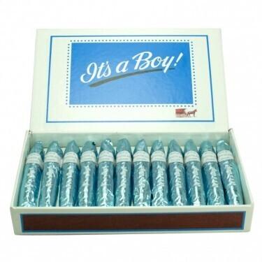 'It's a Boy' Chocolate Cigar
