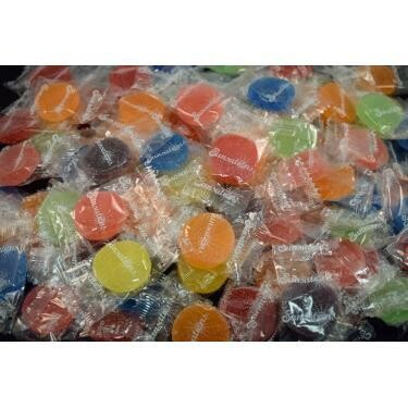 Assorted Wrapped Jelly Fruit Gems