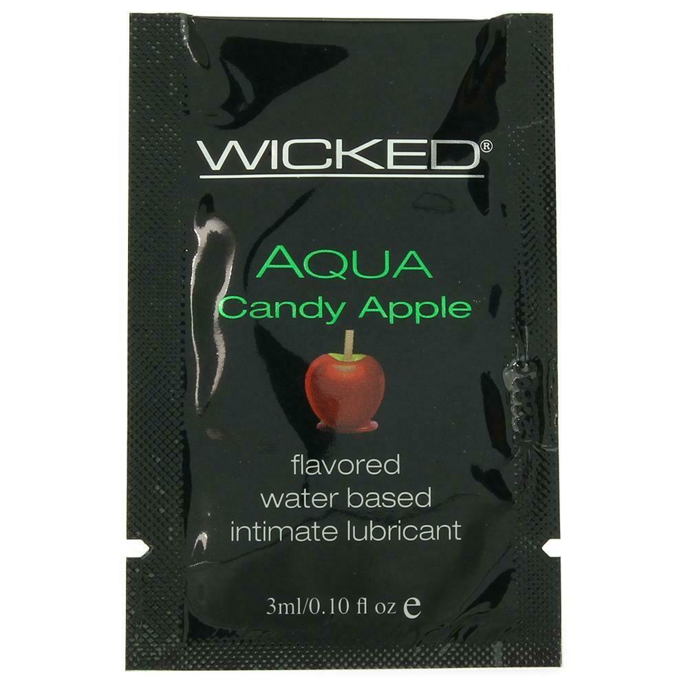 Aqua Flavored Lube (Candy Apple)