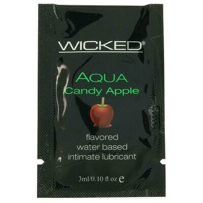 Aqua Flavored Lube (Candy Apple)