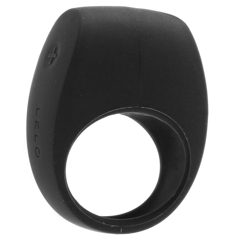 TOR 2 Vibrating Couples Ring in Black