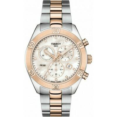 Tissot PR 100 Sport Chic Chronograph Lady