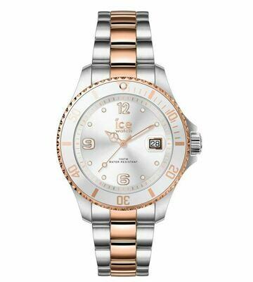 Ice Watch ICE Steel - Silver Roségold Small