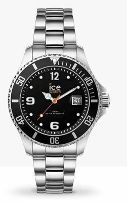 Ice Watch ICE Steel - Black Silver Small