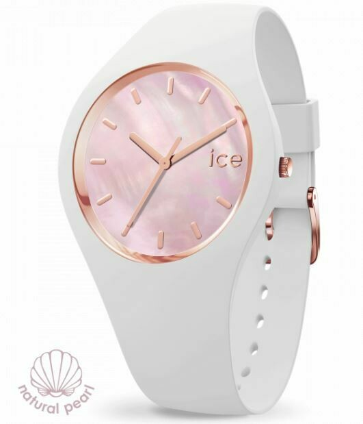Ice Watch - ICE Pearl White Pink Medium