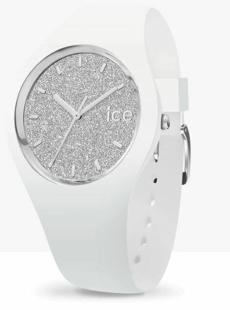 Ice Watch - ICE Glitter White Silver Medium