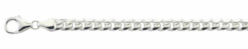 Halskette Panzermuster Silber 925