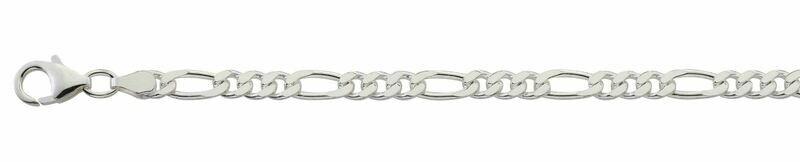 Armband Figaro Silber 925