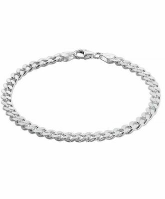 Flachpanzer Armband Silber 925