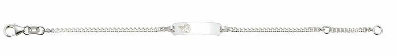 BéBé Bracelet Panzer Silber 925