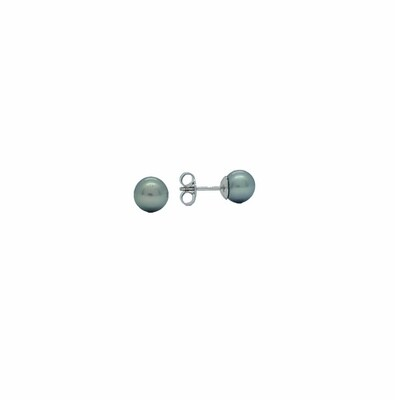 Perlohrstecker Tahiti - Perlen Weissgold 750