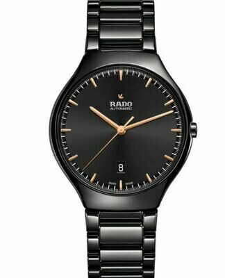 Rado True Thinline Black Automatik