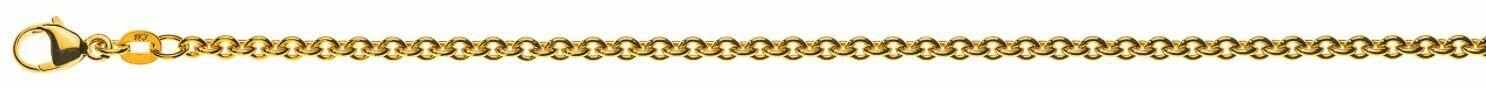 Armband Rundanker Gelbgold 750