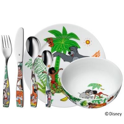Dschungelbuch 6 - teilig Kinderbesteck WMF