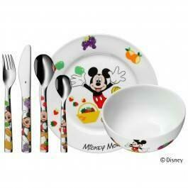 Mickey Mouse 6 - teilig Kinderbesteck WMF