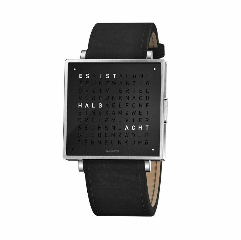 Armbanduhr Qlocktwo W39 Deutsch