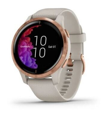 Garmin VENU Smartwatch HR Sandfarben / Rosé