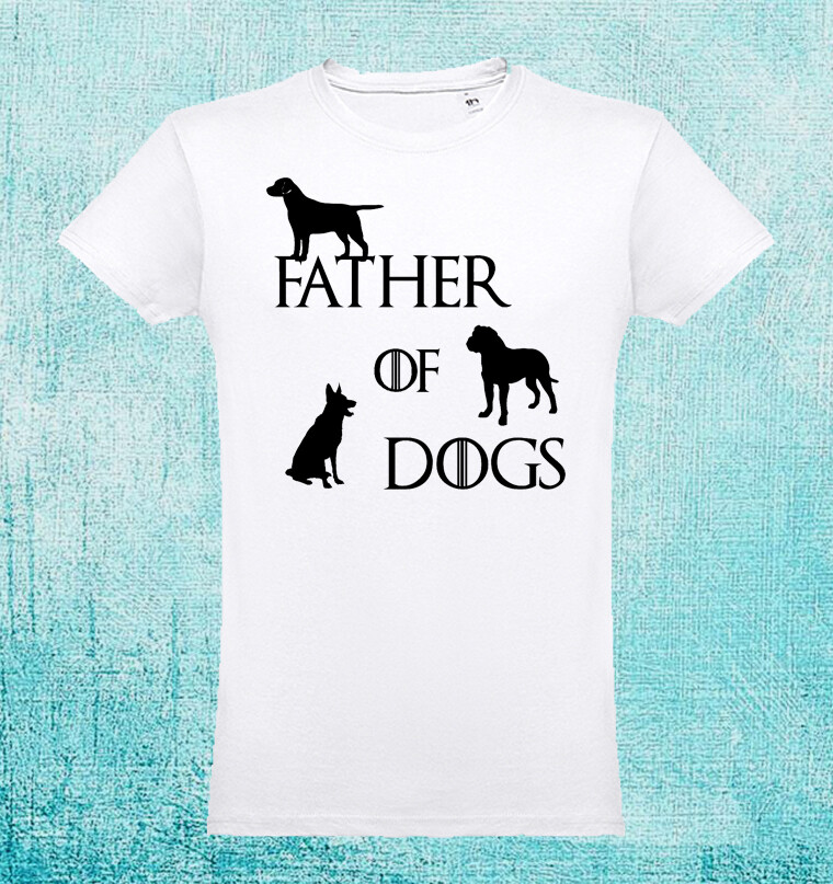 "T-Shirt ""Father of Dogs"""