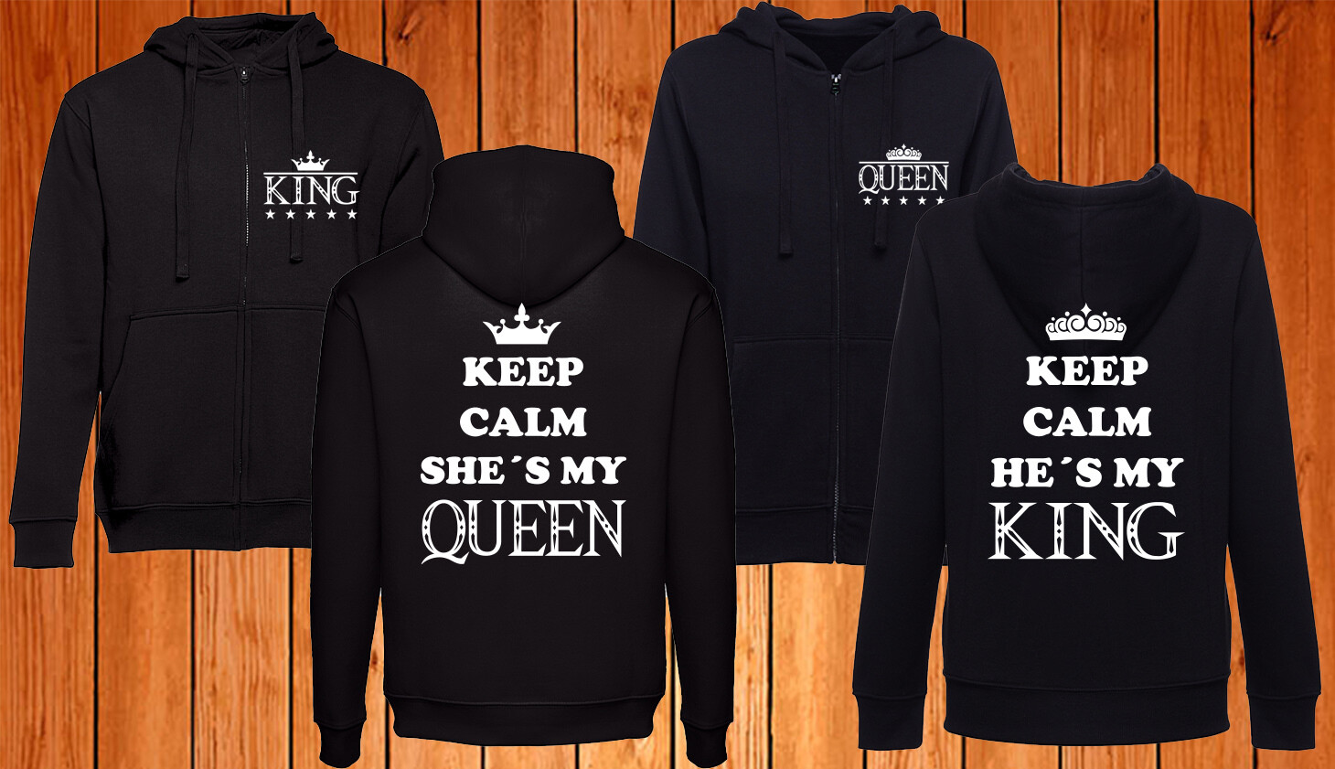 Conjunto 2 Casacos King - Queen