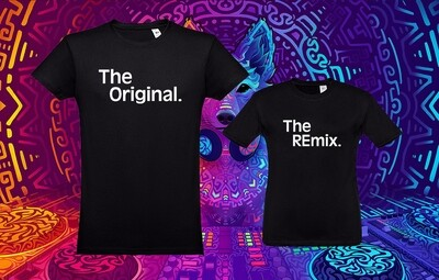 Conjunto 2 T-Shirts Original - REmix