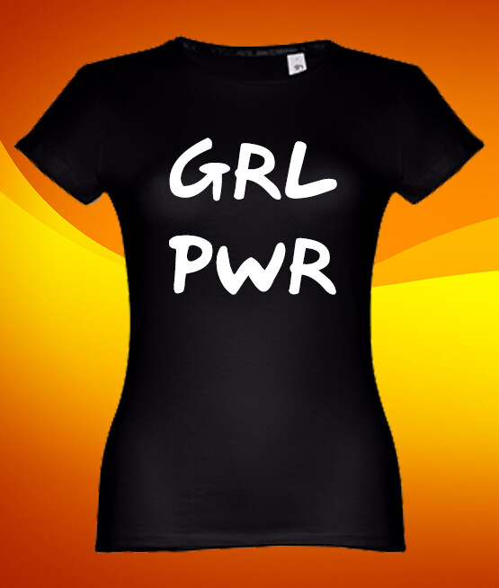 "T-Shirt ""GRL PWR"""