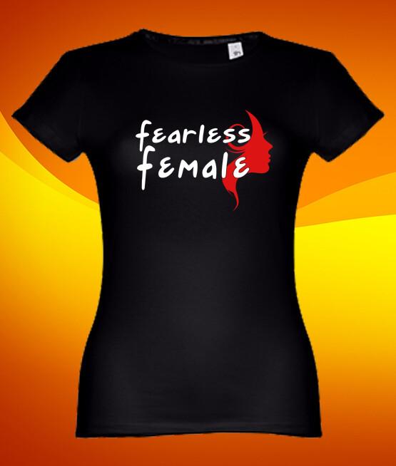 "T-Shirt ""Fearless Female"""