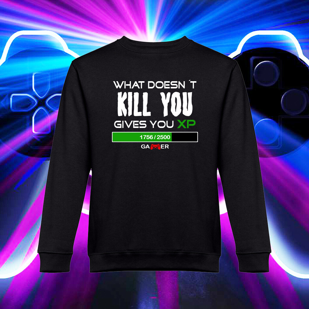 "Sweatshirt ""GAMER XP"""