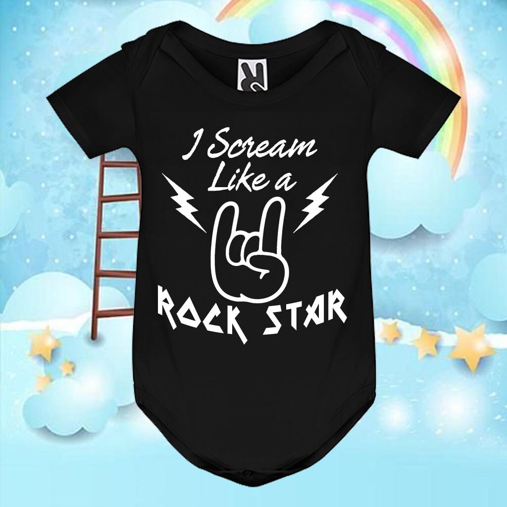 Body I Scream like a Rock Star