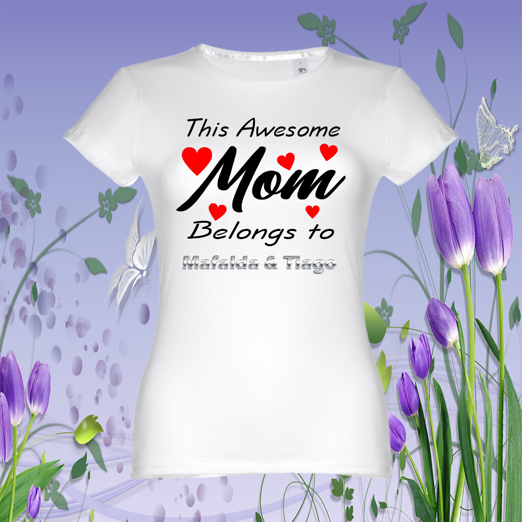 "T-Shirt ""Awesome Mom"""