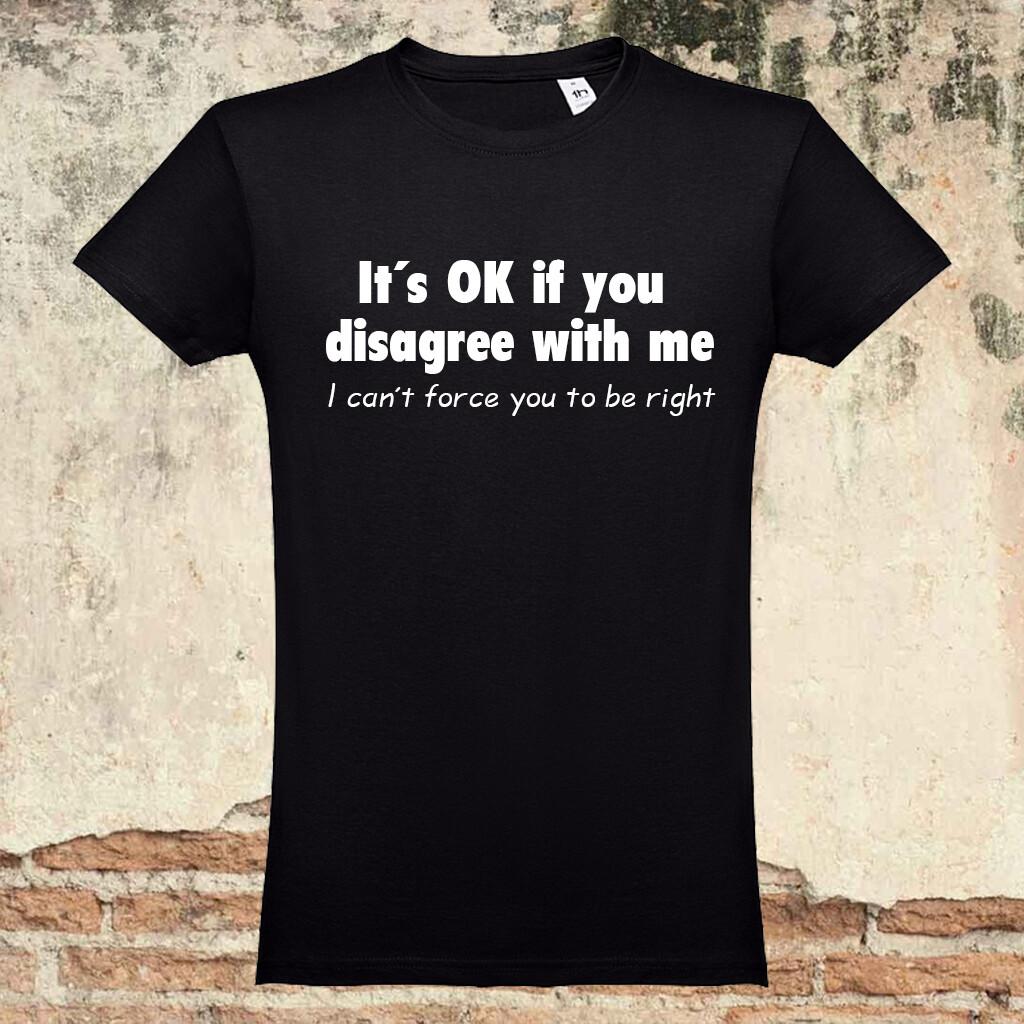 "T-Shirt ""Disagree"""
