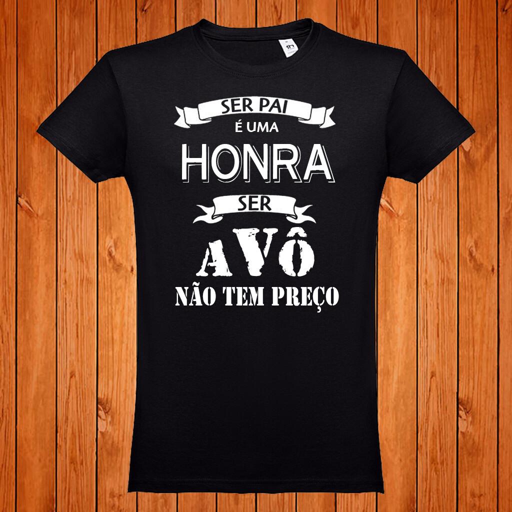 """T-Shirt """"Ser Avô não tem preço"""""""