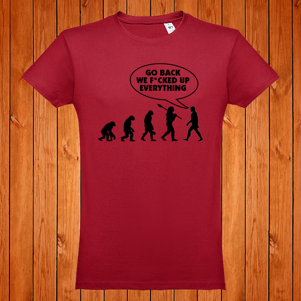 "T-Shirt ""Evolution"""
