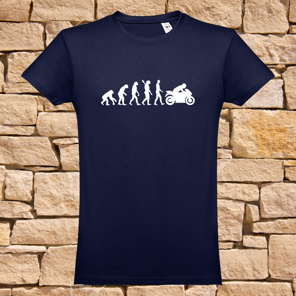 "T-Shirt ""Evolution Biker"""