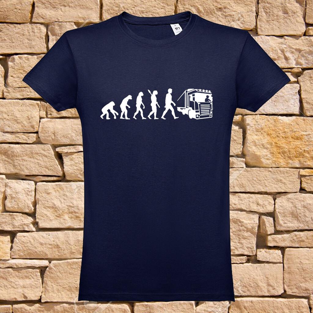 "T-Shirt ""Evolution Trucker"""