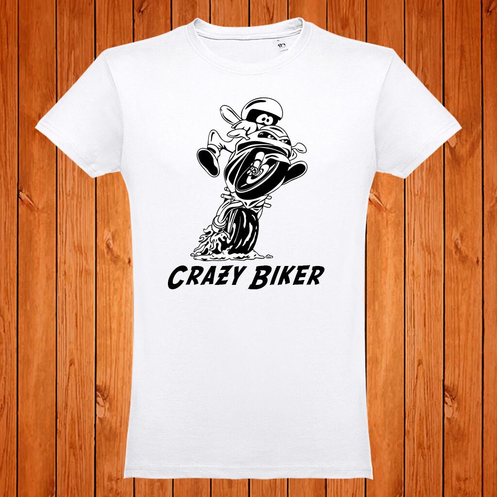 """T-Shirt """"Crazy Biker"""""""