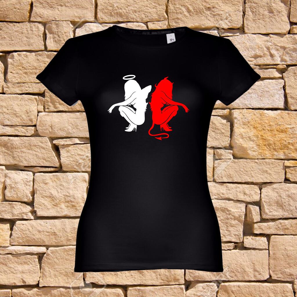 "T-Shirt ""Angel or Devil"""