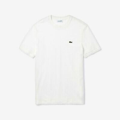 T-Shirt Lacoste weiß