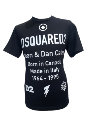 Dsquared2 T-Shirt schwarz