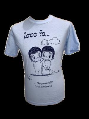 Dsquared2 T-Shirt hellblau