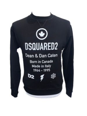 Dsquared Sweater schwarz
