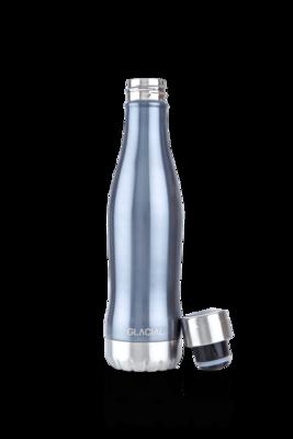 Water Bottle Blue Metallic GLACIAL