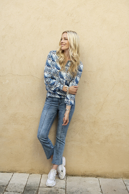 Jeans kick flair