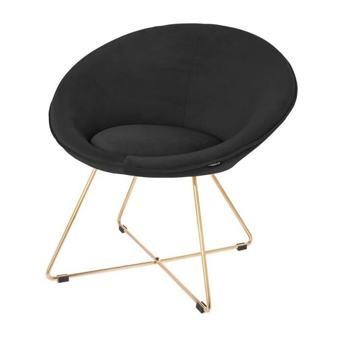 Chair Luca black 74 cm