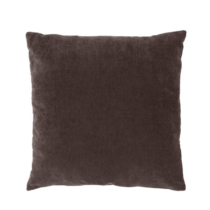 Cushion Ivy 50x50 cm dark brown