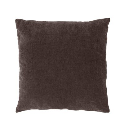 Cushion Ivy 50x50 cm dark brown