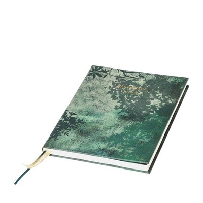 Hard cover notebook Leaves 22 cm