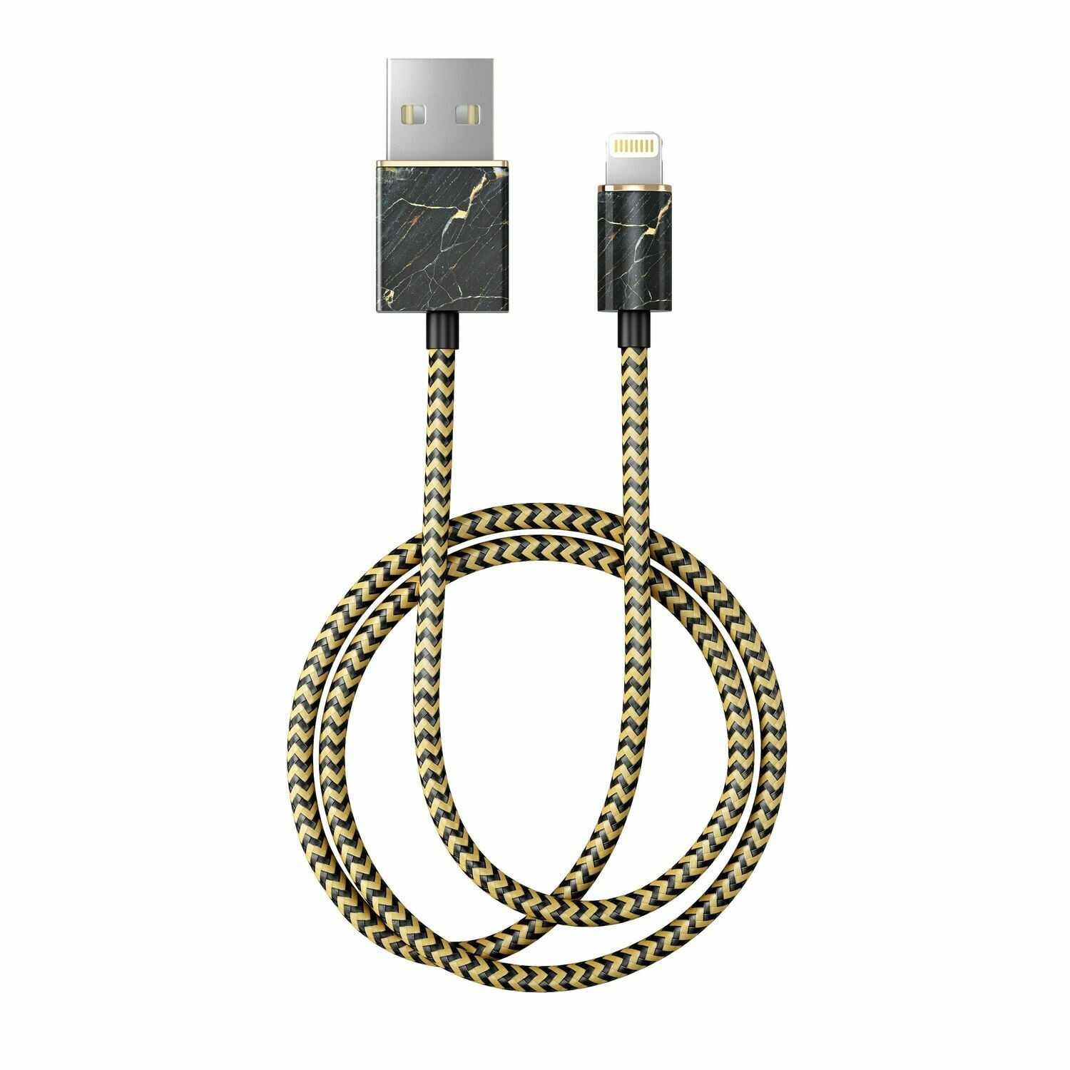 Port Laurent Marble Fashion Cable 1m Lightning