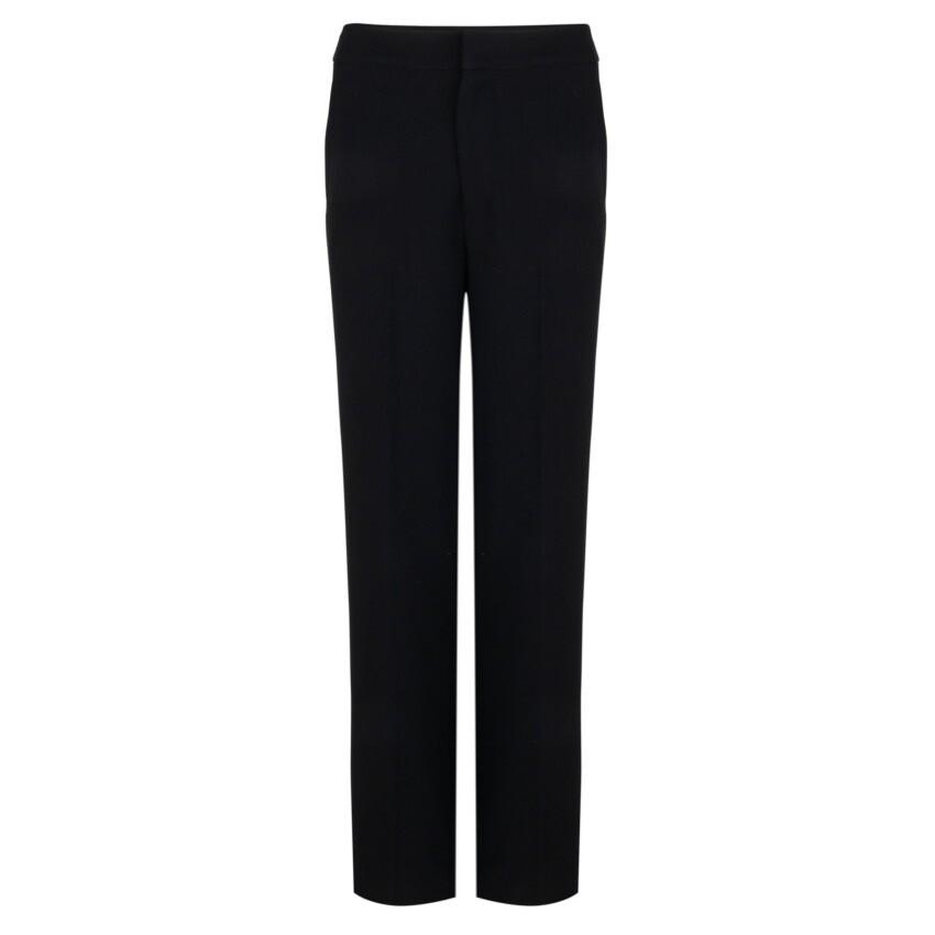Black city trousers